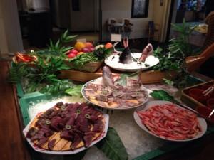 洋食系のお店では、手づかみで食べる料理が多くあります。